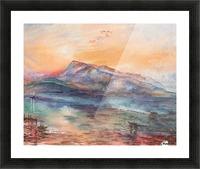 Mount Rigi Switzerland Lake Picture Frame print