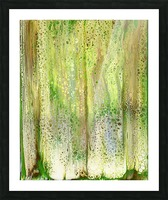 Forest Picture Frame print