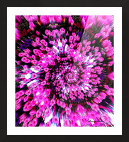 Getting Lost in Pink Picture Frame print