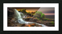 Melincourt Brook Picture Frame print
