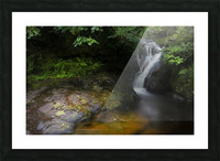 The colours of Blaen y Glyn  Picture Frame print