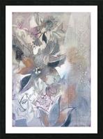 Riverton Wallpaper Panel I Picture Frame print