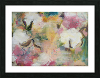 August Indian Cotton Picture Frame print