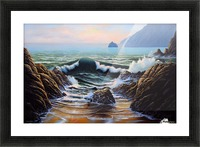 Dancing Tide Picture Frame print