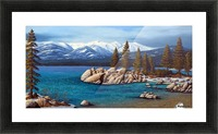 Winter At Sand Harbor Lake Tahoe Picture Frame print