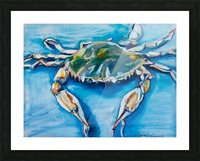 Louisiana He Soft Shell Crab Picture Frame print