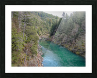 Outside Crescent City Picture Frame print