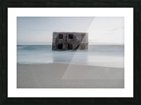 Fort in the sea Picture Frame print