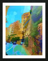 Monte Carlo Monaco Casino  Picture Frame print