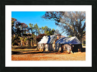 Old Wilpena Station  Picture Frame print