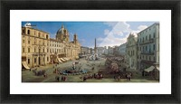 Piazza Navona Picture Frame print