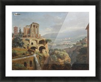Citadel on the hill Picture Frame print