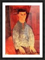 Modigliani - Portrait of Moise Kisling -3- Picture Frame print