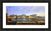 Darsena delle Galere Picture Frame print