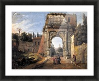 View of the Arch of Titus Picture Frame print
