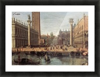 The Piazzetta from the Bacino di San Marco Picture Frame print