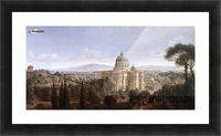 The St Peter's in Rome Picture Frame print