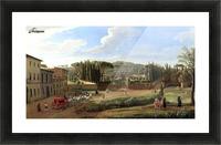 A view of the Villa Aldobrandini Picture Frame print