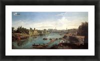 Tiber near the Porto di Ripa Grande Picture Frame print