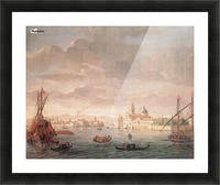 The Island of San Michele Picture Frame print
