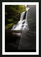 Capturing the Cascade Picture Frame print