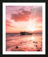 So long to what has become far gone Picture Frame print