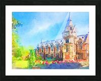 Pembroke collegeCambridge Picture Frame print