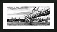 River Thames - London city skyline Picture Frame print