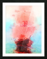 Red Sails Picture Frame print