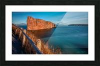 Lumiere sur le Rocher Perce Impression et Cadre photo