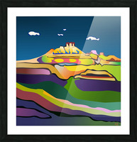 Rock Springs Picture Frame print