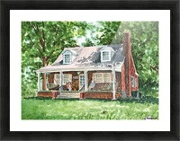 East Coast Summer Picture Frame print