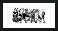 Apollo and Artemis Picture Frame print