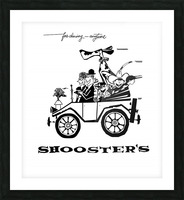 Shoosters Drive-In Picture Frame print
