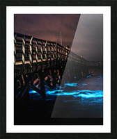 Bioluminescence - Yorktown Beach Picture Frame print