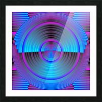 A.P.Polo - Das Glas ist halb voll Picture Frame print