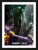 Rainbow Six Siege Picture Frame print