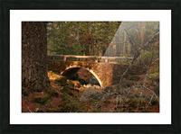 Troll Bridge Picture Frame print