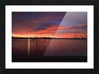 Lake Wellington Sunset Picture Frame print