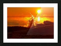 Lake Michigan Sunrise  Picture Frame print