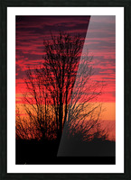 Missouri Sunset part 1 Picture Frame print