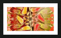 Wildflower In The Wind 2 Picture Frame print