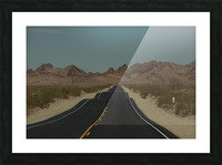 Desert Wave Picture Frame print