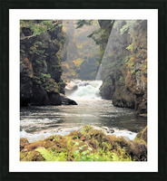 Rogue River Canyon Picture Frame print