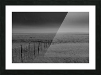 Fog at Dawn Picture Frame print