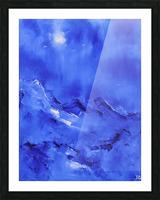 White birds-2 Picture Frame print
