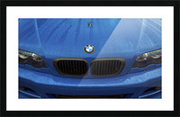BMW BLU REIGN Picture Frame print