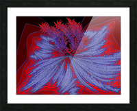 Desert Sand Wildflower 2 Picture Frame print