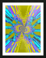 A Wildflower Spinning In The Wind 6 Picture Frame print