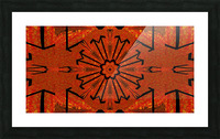 Lotus In Flames 1 Picture Frame print